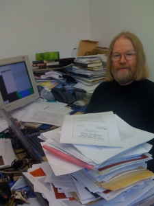A computer scientist shows the way to the paperless office